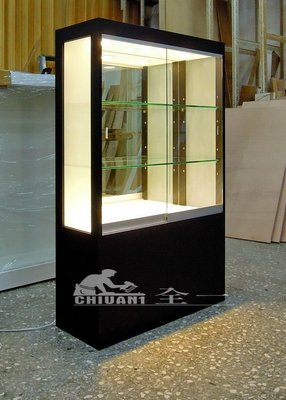 全一 噴砂玻璃展示櫃  展示櫃  公仔...