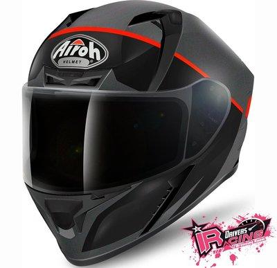 ♚賽車手的試衣間♚ Airoh® Valor Eclipse Helmet B/R 義大利 全罩 安全帽