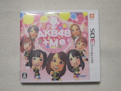【KENTIM玩具城】中古二手九成新3DS AKB48+Me 早安少女組 日版遊戲