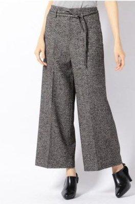 日本品牌組曲毛料寬褲