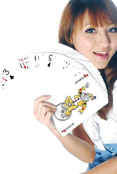 防老千 詐賭 梭哈 指定專用超大 撲克牌 寬12.5×高17.5cm 永和 49元