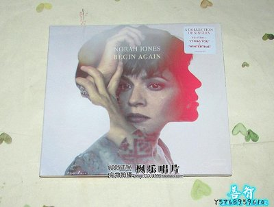 善智 CD 精選諾拉瓊斯 No##rah Jones Begin Again CD 現貨SZ898
