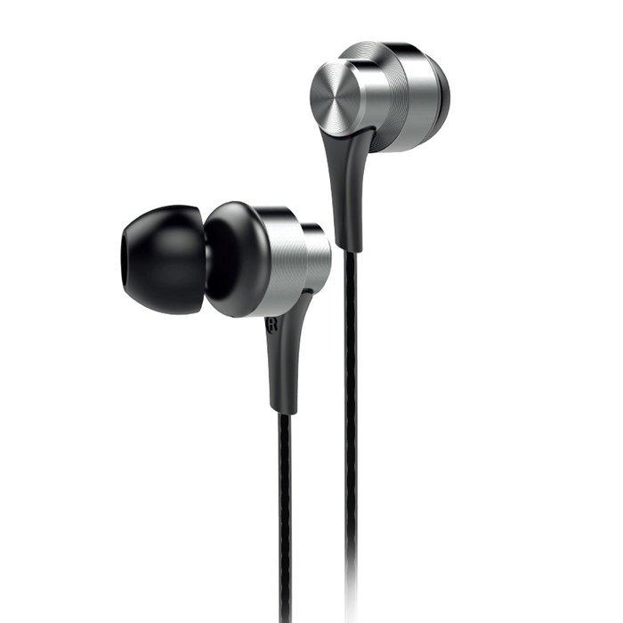 【101-3C數位館】 AIWA 愛華 入耳式全音域通話耳機  EW101SR 銀色