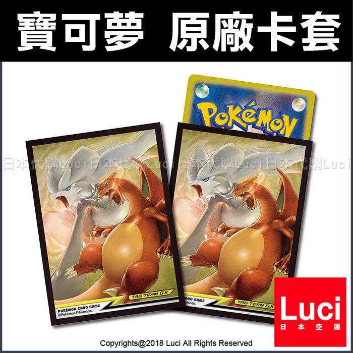 Pokemon 噴火龍 64枚 遊戲卡 卡套 寶可夢 PTCG 牌套 桌遊 皮卡丘 精靈 卡牌 LUCI日本代購