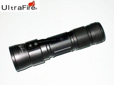 {MPower} UltraFire UF-T20 美國名廠 Cree T6 LED Flashlight 電筒 (600流明, 內置磁石, 調光度) - 原裝行貨
