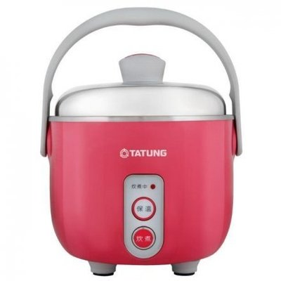 TATUNG 大同 三人份 超美型 小電鍋 內外鍋 皆不鏽鋼 ( TAC-03DI 桃紅色 ) $2600
