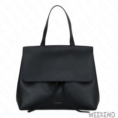 【WEEKEND】 MANSUR GAVRIEL Lady Bag 中款 經典 手提 肩背 黑+紅色