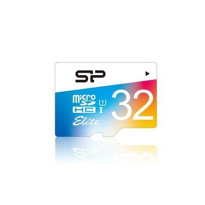 SP廣穎 UHS-I 32GB microSDHC Class10 手機 平板 高速全彩記憶卡 (附轉卡)