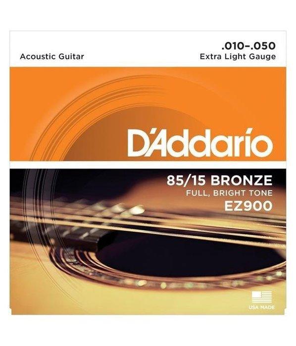 【現代樂器】3包免運!美國製Daddario EZ900 木吉他 / 民謠吉他弦 原廠公司貨
