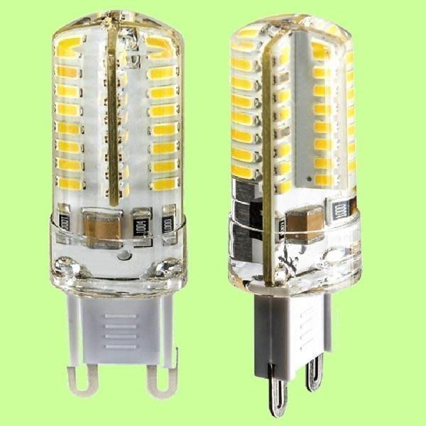 5Cgo【權宇】HGY606 台灣 3014 LED G9  360度 AC85~265V 4W 燈泡 含稅 會員扣5%