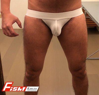 武 裁縫工作室  白色 運動型後空三角內褲  Fight Tailor Studio White Jockstraps