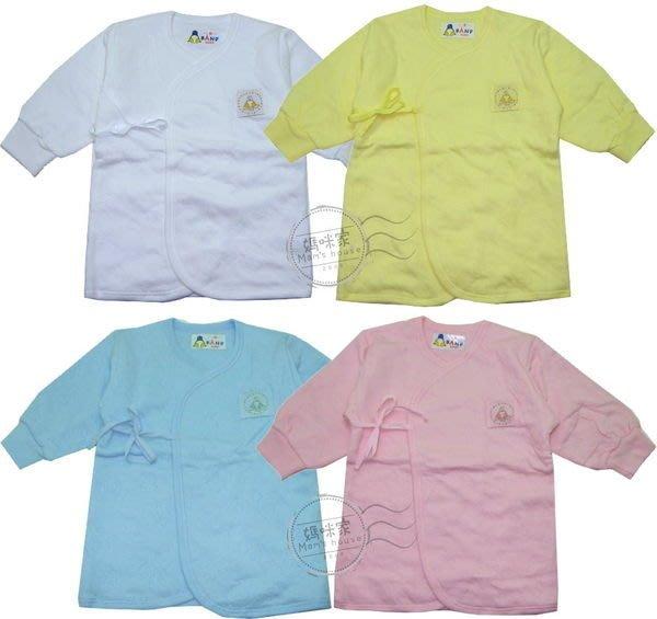 媽咪家【S071】S71小乙福和尚衣 台灣製 小乙福 三層綿 厚綿 肚衣 新生兒 紗布衣 和服 0號、2號