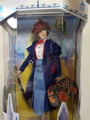 迪士尼Mary Poppins Returns愛‧滿人間芭比娃娃 歡樂滿人間 非小美人魚凡妮莎美女與野獸冰雪奇緣2艾莎