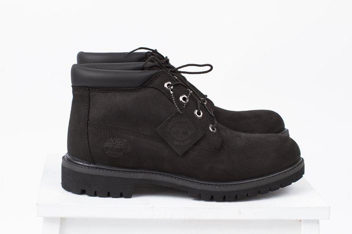 黑羊選物 Timberland 亞洲w楦 經典全黑中筒靴 防水 抗疲勞 32085