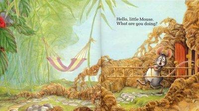 小貝比的家*LITTLE MOUSE, RED RIPE STRAWBERRY, AND BIG HUNGRY BEAR
