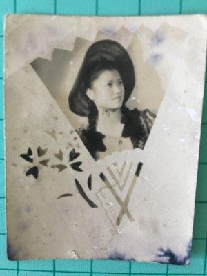 老照片-日本時代少女照