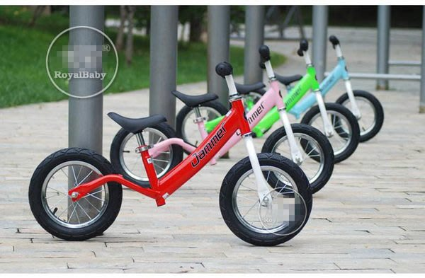 e世代Royalbaby優貝Jammer Push Bike滑步車兒童平衡車/歐美流行設計原款Balance Bike學行車滑行車