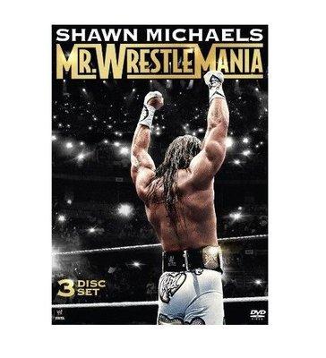 ☆阿Su倉庫☆WWE摔角 Shawn Michaels: Mr. WrestleMania DVD HBK摔角狂熱先生精選專輯 熱賣特價中
