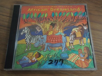 ◎MWM◎【二手CD】Putumayo Kids Presents- African Dreamland 無側邊,