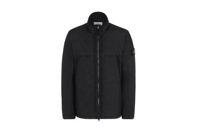 STONE ISLAND AW19 GARMENT DYED CRINKLE REPS NY PIPING JACKET