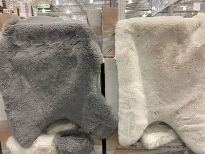Mon Chateau 仿毛皮地毯 尺寸:60X99公分-吉兒好市多COSTCO代購