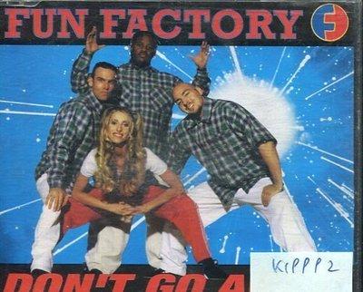 *真音樂* FUN FACTORY / DON'T GO AWAY 二手 K19992