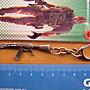 o($︿$)o動漫精品--穿越火線---060--槍系列小型---鑰匙圈扣掛---戰爭武器--精品配件