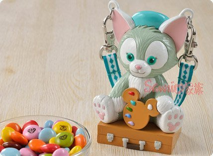 《東京家族》DISNEY迪士尼  達菲熊 duffy   達菲熊朋友畫家貓Gelatoni傑拉東尼 糖果盒糖果罐
