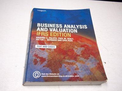 【考試院二手書】《Business Analysis and Valuation》│Palepu│八成新(B11Z13)