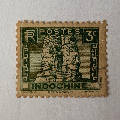 印度支那 Ruins of Angkor 3 Cents