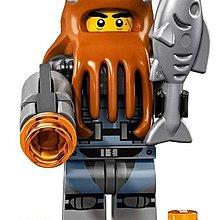 LEGO 樂高 NINJAGO 旋風忍者電影 71019 12號 Shark Army Octopus