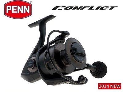 【野川釣具-釣魚】PENN-CFT-5000/6000型捲線器(另售1000~8000型)