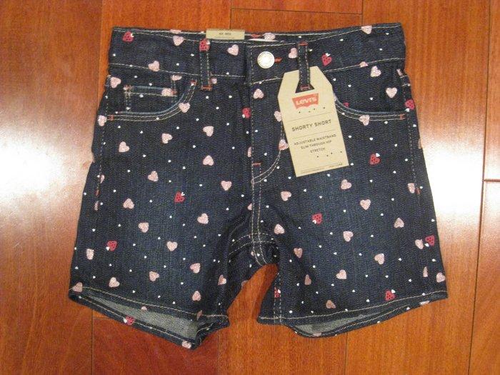 Levi's 女童短褲 尺寸4, 6X  #有2款