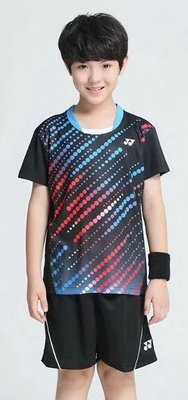2017全新 YONEX  兒童版 羽毛球運動上衣 短褲 吸溼排汗快乾  型號6019