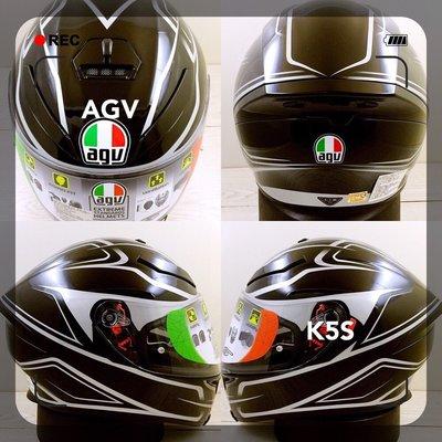 武川家族 義大利進口帽 AGV K5-S系列 MAGNITUDE MULTI全罩(亞洲版)安全帽 內墨片三A-4-11M