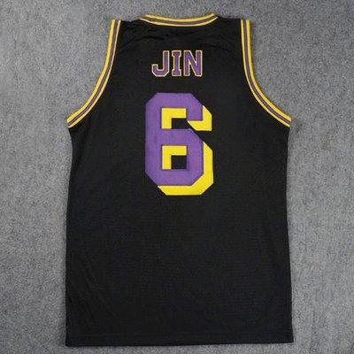 [灌籃高手球衣]2014年新版特別 版刺繡款 黑色 6號 神奈川第一 海南隊長 牧紳一
