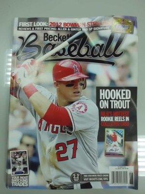 A3cd☆2012年10月~進口棒球雜誌79期~『BECKETT  BASEBALL』