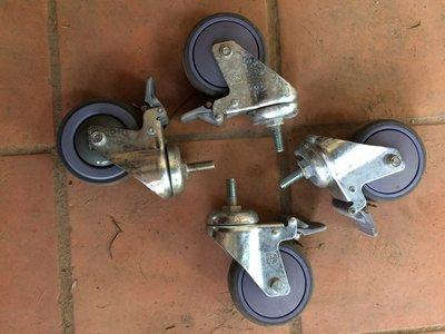 二手 輪徑10公分 耐重輪4個一組