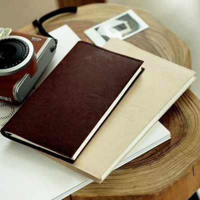YEAHSHOP 洛林原創高韌性耐撕日本和紙封套定頁本筆記本手帳本簡約純色205191Y185