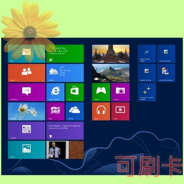 5Cgo 【權宇】windows 8 win8 E-Win 32Bit WN7-00367 / 64Bit WN7-