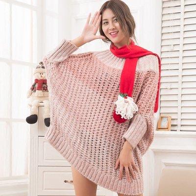 聖誕節禮物新款冬季圍巾老人雪人鹿款大人兒童演出裝扮