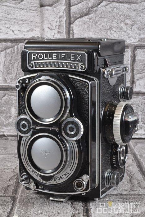 【品光數位】祿來 Rolleiflex 3.5F + xenotar 75MM F3.5 雙眼相機 #79754T