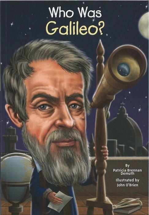 *小貝比的家*WHO WAS GALILEO?/平裝/7~12歲/偉人傳記