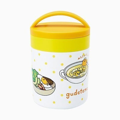 41+ 現貨不必等 正版授權 絕版品 特價 小日尼三蛋黃哥 不鏽鋼食物罐 4901610752012