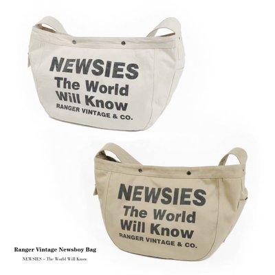 1940s 美國復古報童帆布包 newspaper bag 重磅帆布 timeworn belafonte