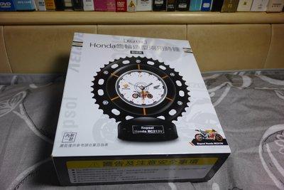 7-11 Honda 本田 經典重機系列限量齒輪造型立掛兩用時鐘