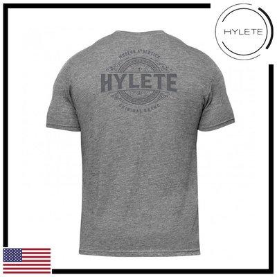 ►瘋狂金剛◄ 低調灰 HYLETE distilled tri-blend crew tee 短袖T恤