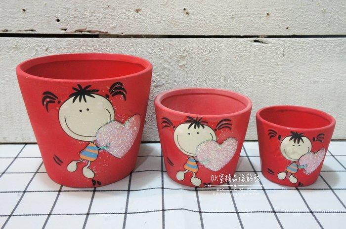 ~*歐室精品傢飾館*~Zakka 鄉村雜貨 可愛 女孩 陶瓷 簡約 花器 筆筒 擺飾 多肉 植物 園藝 ~新款上市~