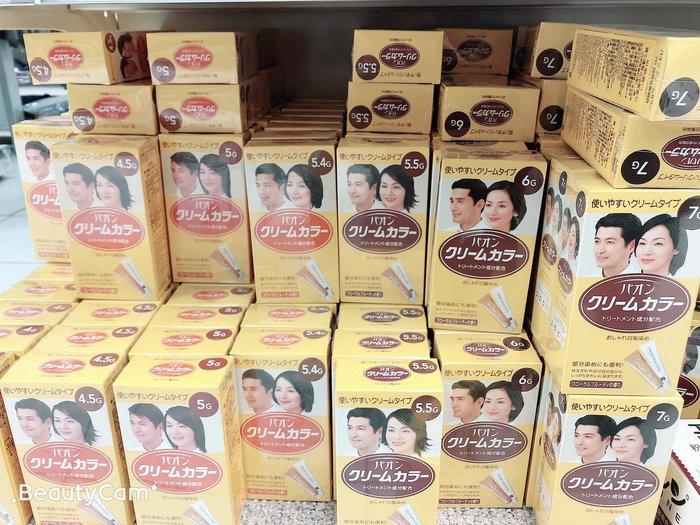 日本染髮劑 日本寶王 PAON 寶王 日本早染 護髮式染髮霜 (共6色)日本染髮劑  大量現貨供應