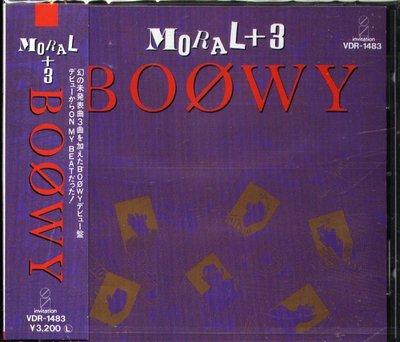 八八 - BOOWY - MORAL+3 - 日版 - NEW
